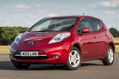 Nissan Leaf 2015 F34 Red