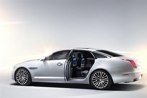 Jaguar XJ Ultimate 2012 Side