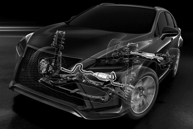 Lexus RX 2016 Adaptive Suspension