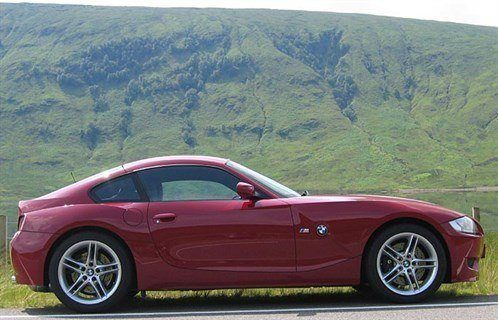 BMW Z4M Coupe Side 700