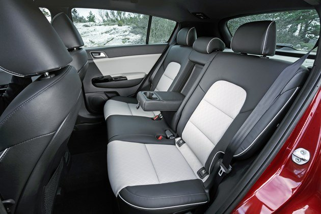 KIA Sportage 2016 Back Seats