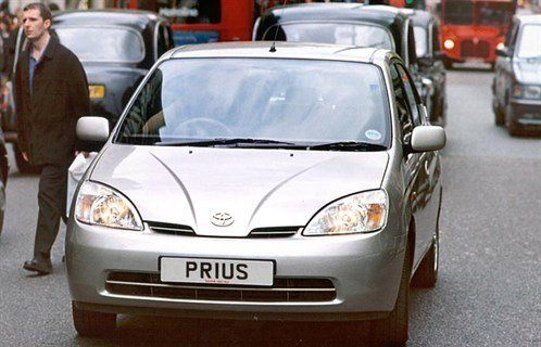 Toy Prius L In London 700