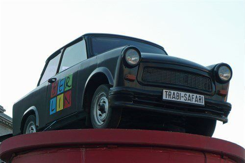 Trabant In Berlin F34