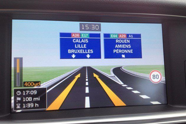 KIA Optima 2016 Satnav Screen 2