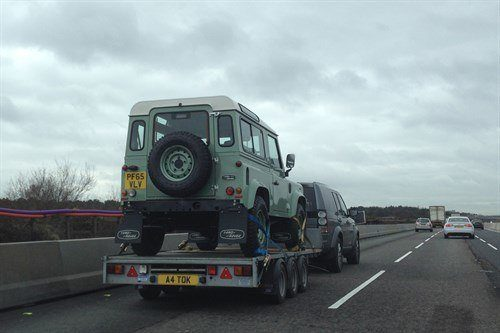 Land Rover Defender Trailer Queen