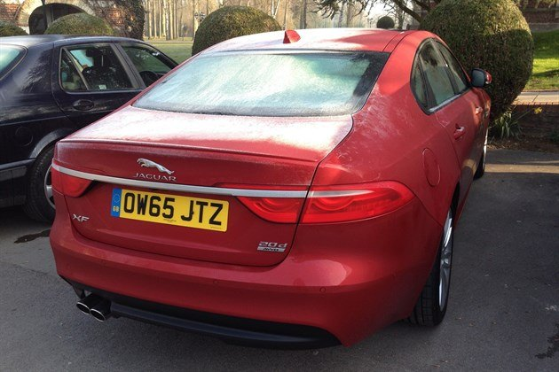 Jaguar XF 2.0d AWD R34 Iced Up