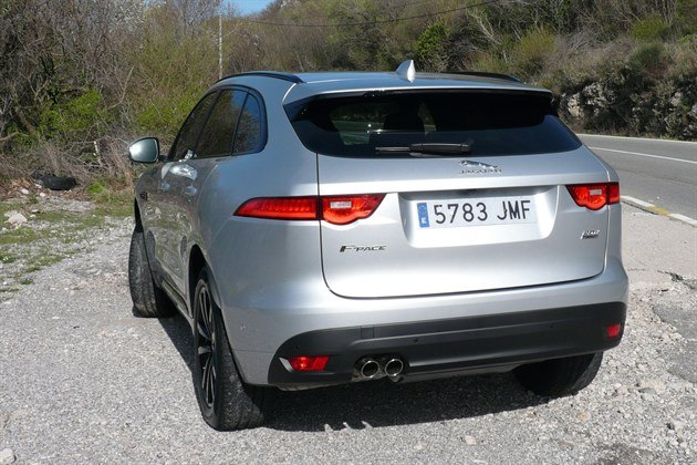 Jaguar F Pace Silver R34 Roadside  E
