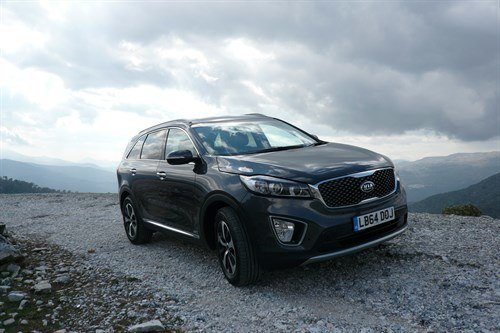 KIA Sorento 2015 F34 Mountains