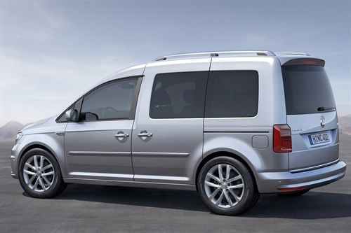 VW Caddy Kombi 2015 Rear Side