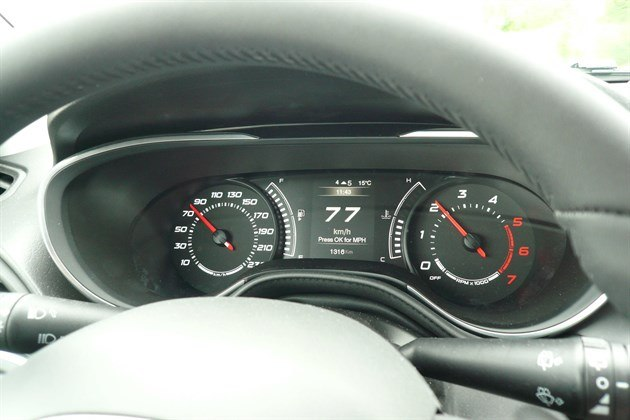 FIAT Tipo SW 2016 Digital Speedo