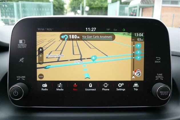 FIAT Tipo SW 2016 Satnav Screen 1