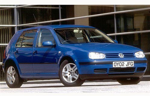 VW Golf IV 5dr Jazz Blue 700