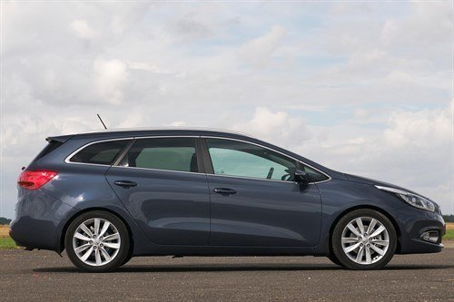 Kia Cee 'd SW 2013 Side Blue