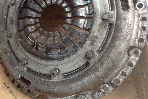 Burned Out VAG Clutch Big