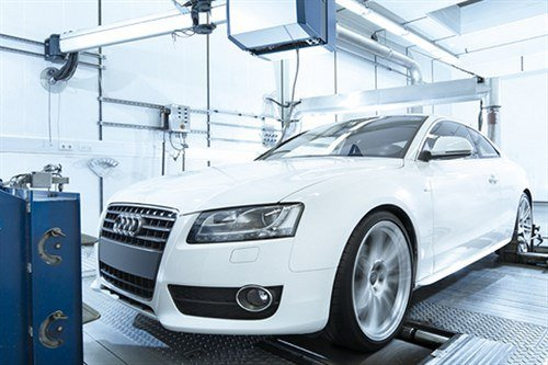 Chassis Dynamometer Testing Audi