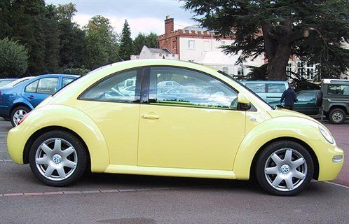 VW Beetle New V5 Side 700