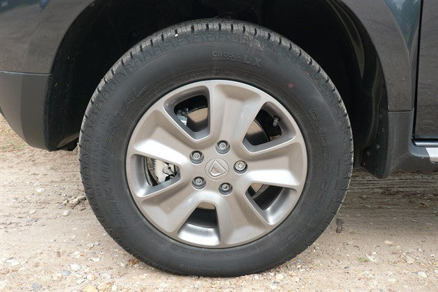 Dacia Duster TCe 125 Front Wheel