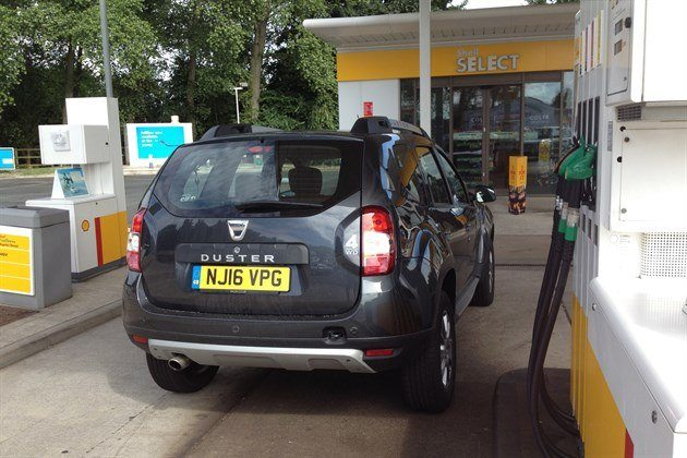 Dacia Duster TCe 125 Shell Station