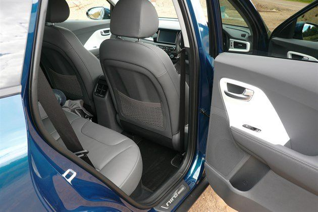 KIA Niro Rear Seat Access