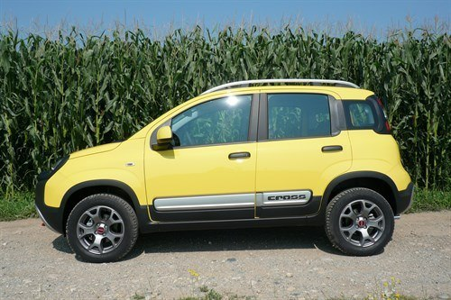 FIAT Panda Cross Side FL Corn