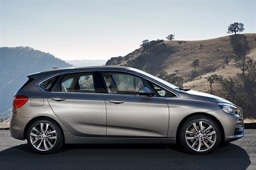 BMW 2 Series Tourer Side Still