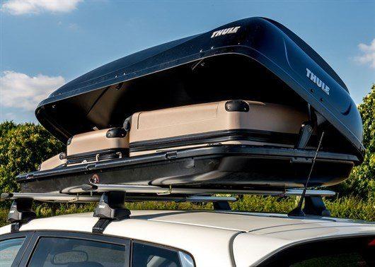 Review thule ocean roof box honest john for Mercedes benz roof box 450 dimensions