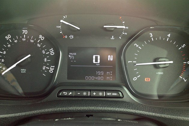 Citroen Space Tourer Digital Speedo (1)