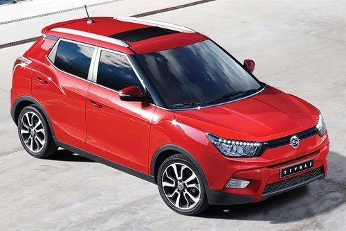 Ssangyong Tivoli F34 Red