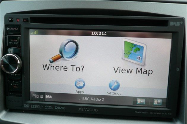 Ssang Yong Turismo Garmin Screen (1)