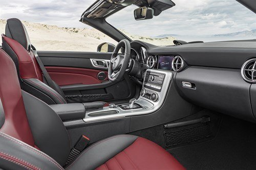 Mercedes -Benz SLC Cockpit