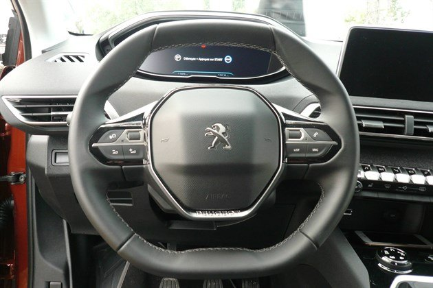 Peugeot 3008 Quartic Steering Wheel