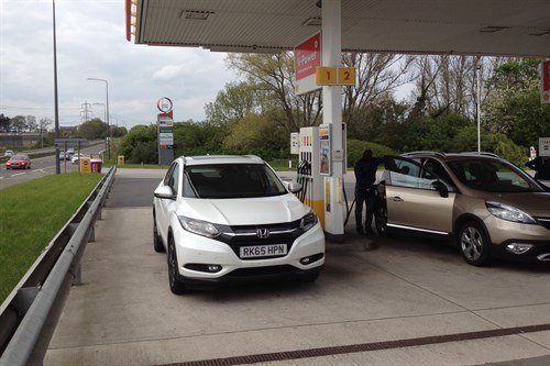 Honda HR-V Refuel Barnsdale Front May 2016 (1)
