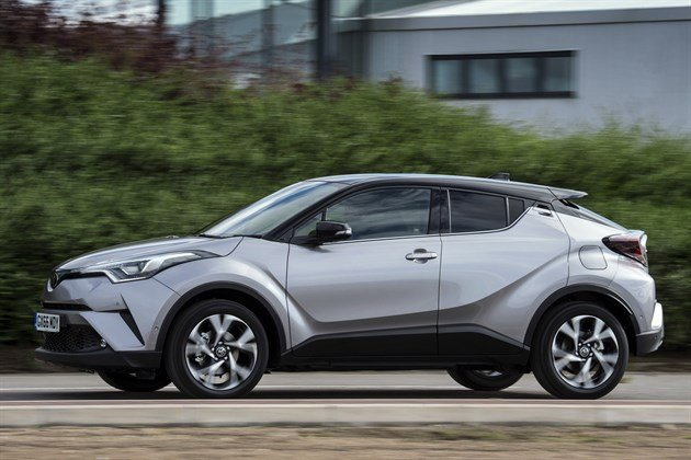 Toyota CHR Side Driving Houses