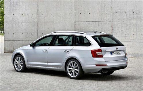 Skoda Octavia Estate 2013 R34 FL