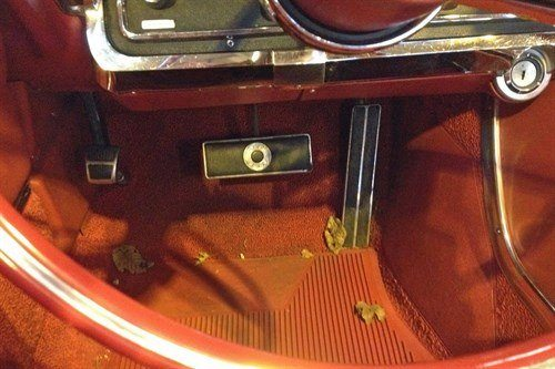 Automatic Brake Pedal Ford Thunderbird