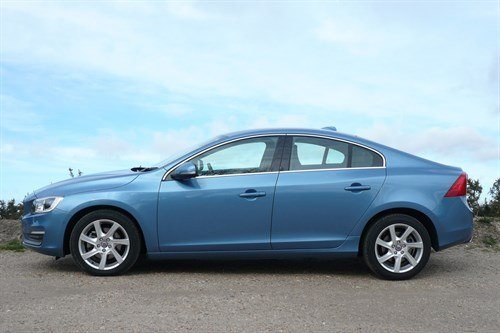 Volvo S60 D4 LT Side