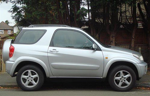 Toy RAV-4 SWB Side 700