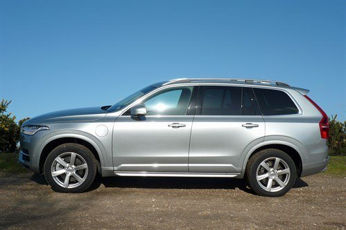 Volvo XC90 T8 Side