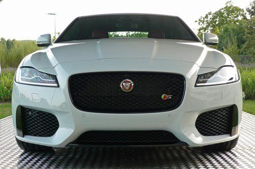 Jaguar XF 2015 1 Front White Display Tent