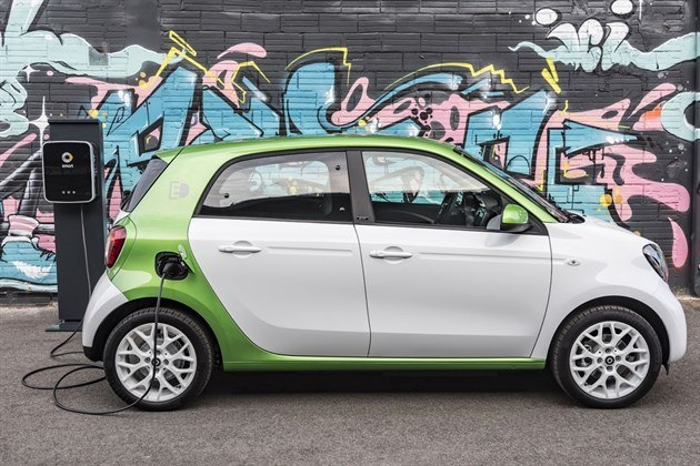 Smart Forfour Electric Drive (1)
