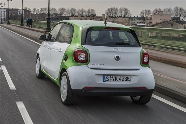 Smart Forfour Electric Drive (4)