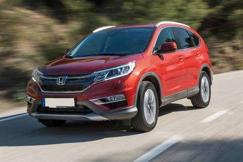 Honda CR-V Facelift 2015 Retouched