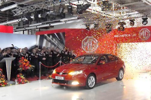 MG6 'Production ' 1st Off Line 700