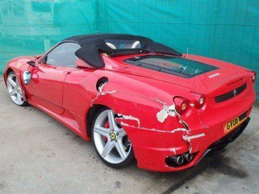 Fake Ferrari Damage (1)