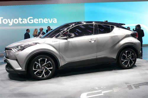 Toyota C-HR 2016 Front Side