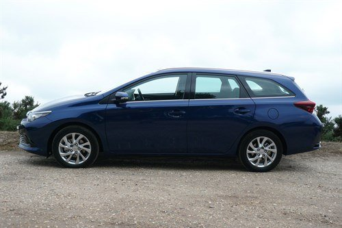 Toyota Auris Tourer Side