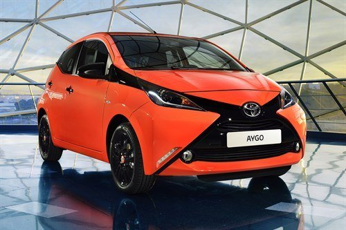 Toyota Aygo 2014 Orange F34
