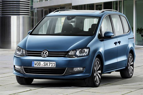 VW Sharan 2015 F34 Blue