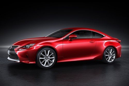 Lexus RC Coupe 2016 F34 Red