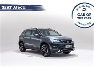Car Of The Year - SEAT Ateca Text